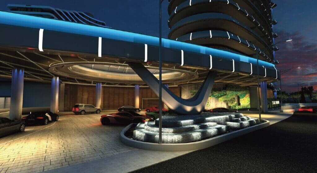 Porte-Cochere-By-Night-Cladding-Creations-ACP-1024x609