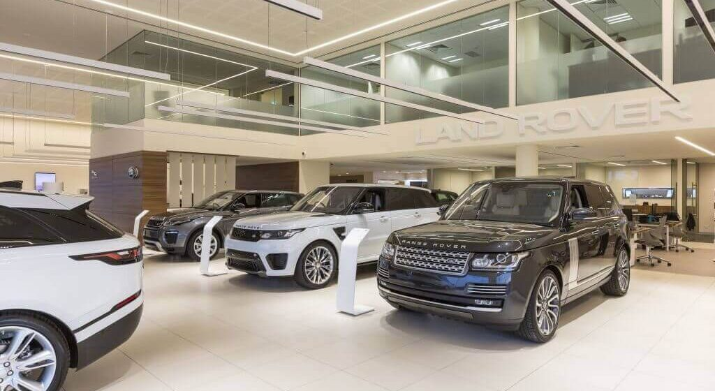 vitracore-G2-Jaguar-southport-showroom-Cladding-Creations-1024x683