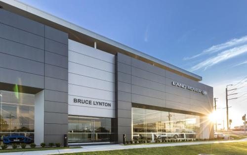 Bruce Lynton Land Rover Southport Cladding Creations