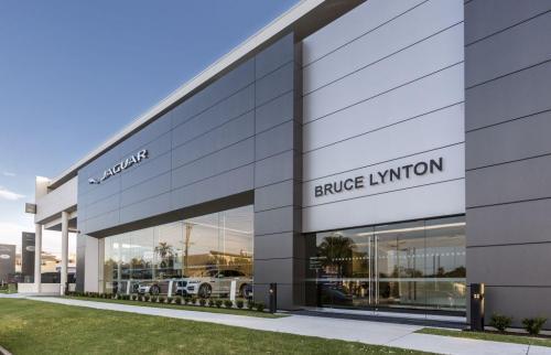 Jaguar dealership Southport non-combustible Cladding Creations